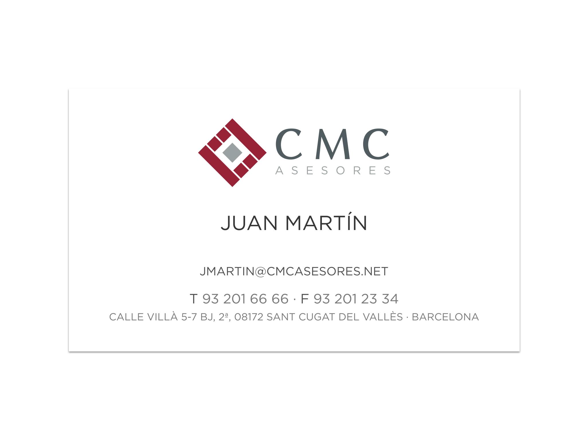 CMC tarjetas