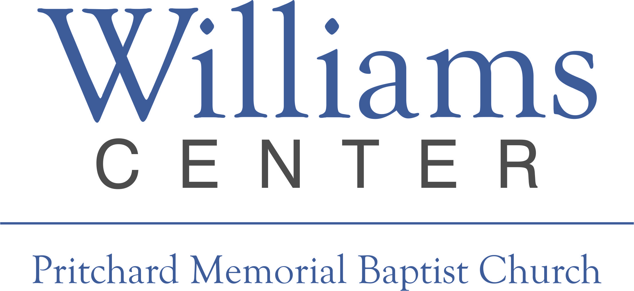 Pritchard Memorial Baptist Church Williams Center Logo