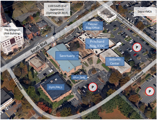 Campus Map - Click to Enlarge