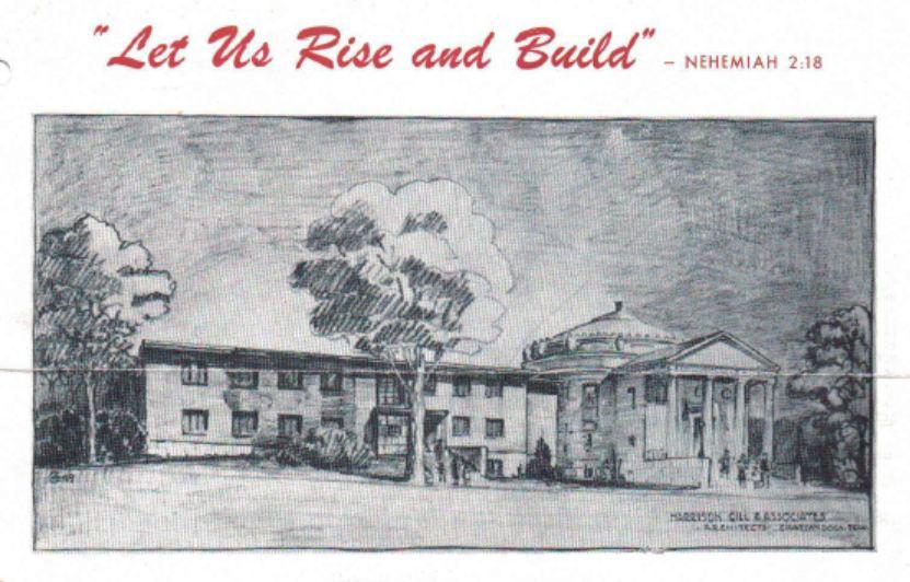Fletcher++Building+campaign++1950+Let+us+Rise+and+Build.JPG