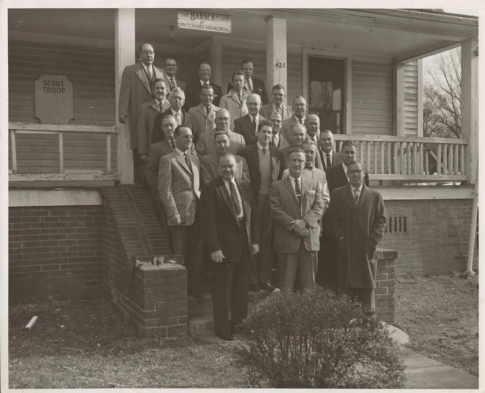 PMBC+Baraca+Class+front+of+scout+Hut+Feb+2,+1958.jpg