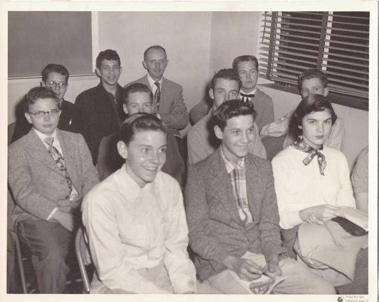 PMBC+church+training+union+c.+50's,+Albert+Eggleston,+Allen+Childers,+Chick+Bird,+others.jpeg
