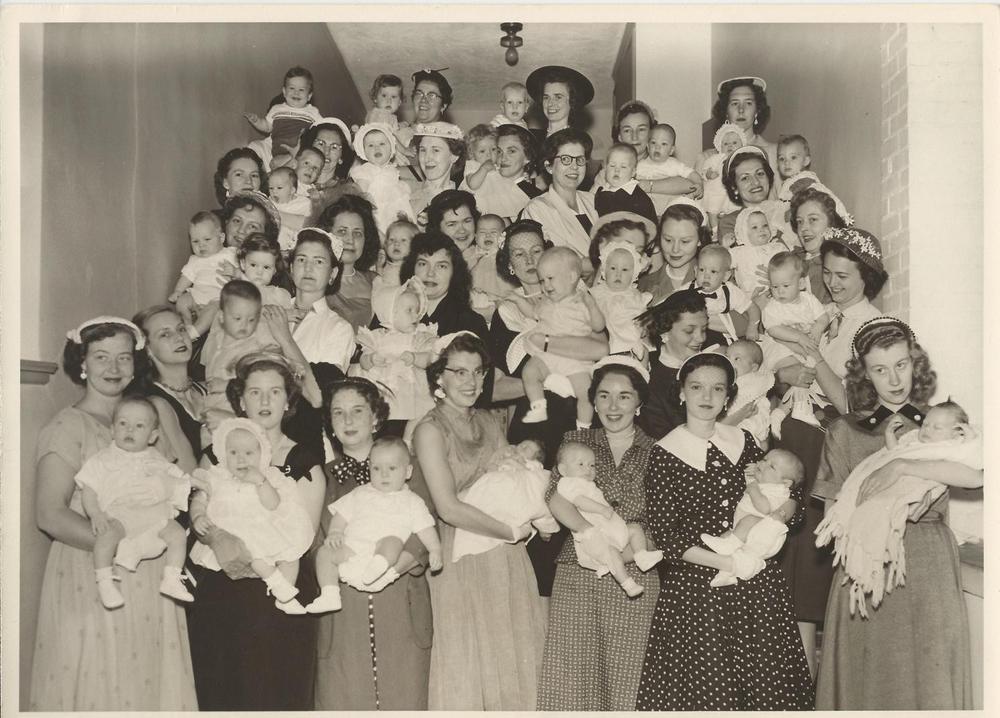 PMBC+ladies+on+steps+with+babies+c.+late+50's.jpg