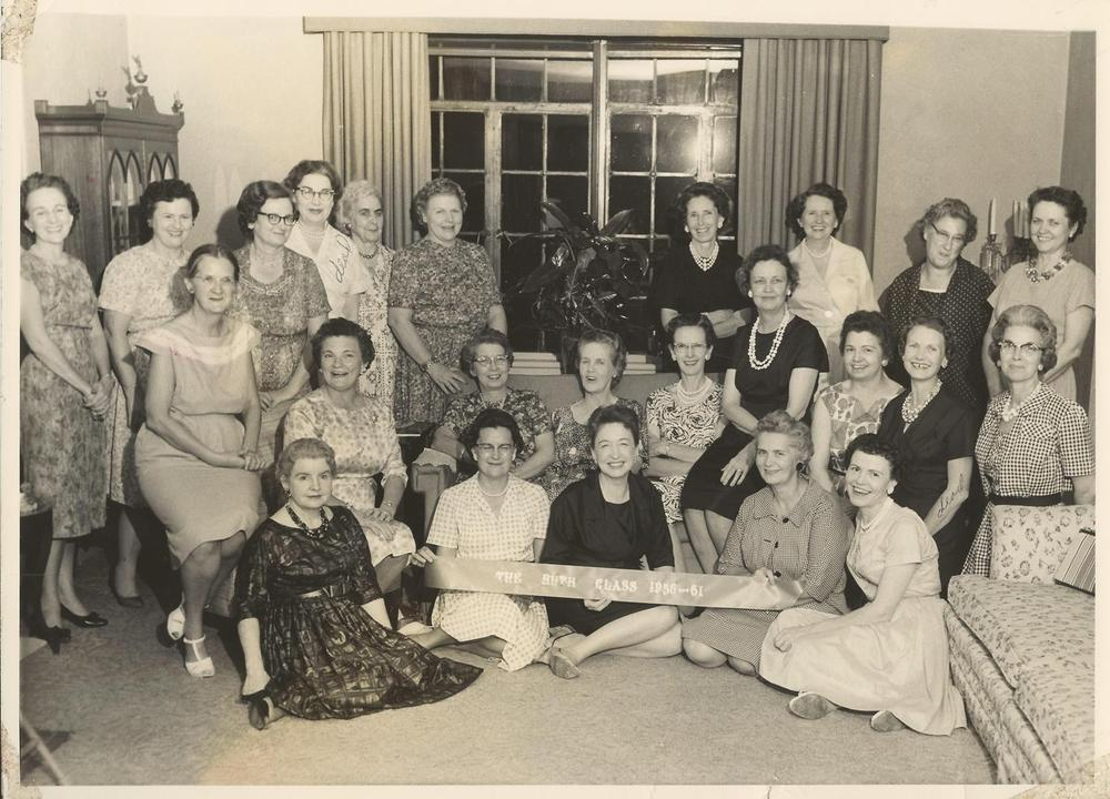 PMBC+Ruth+ladies+SS+Class+Summer+1961,+Arzelle+Mitchell+many+others.jpg