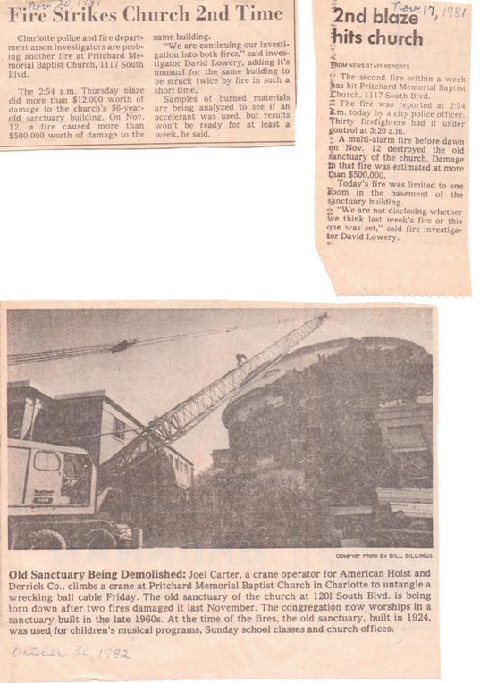 PMBC+sanctuary+2nd++fire+articles+Nov+20,+1981,+tear+down+Oct+1982.jpeg