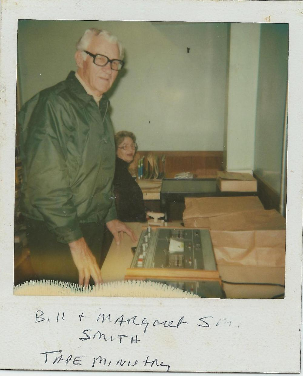 PMBC+Tape+Ministry+Bill+&+Margaret+Smith,+c.+early+80's.jpg