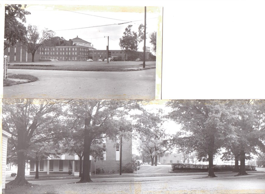 Williams+c.+early+60's+from+across+Caldwell,+Fletcher+in+background,+obelisk+street+sign.jpeg