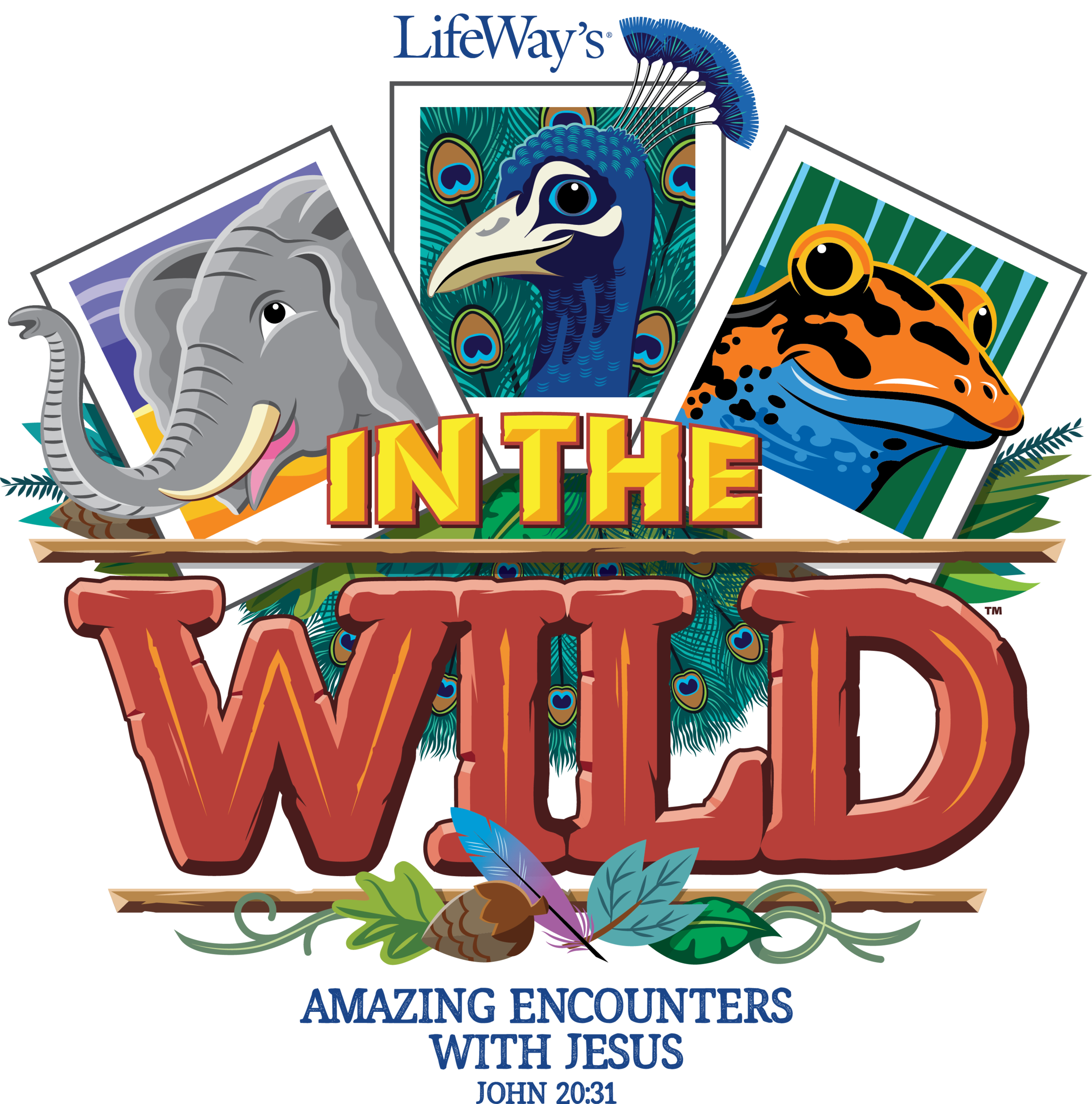 VBS 2019 - We are getting WILD!!June 24-27thAges 3 year olds through completed 5th Grade.Cost: Free