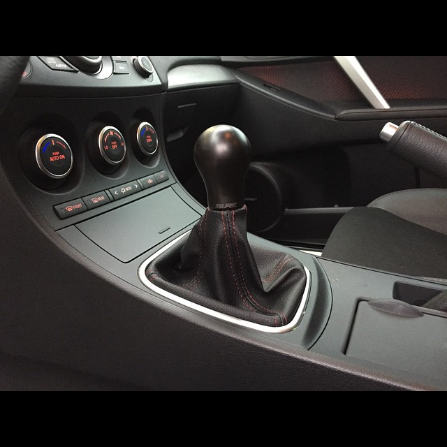 NEW PRODUCT.  @suremotorsports AGS 621g Black Stainless shift knobs now in stock.  #suremotorsports #streetunit #mazdaspeed #shiftknob #mazdausa #mazdamovement #mazdaspeed #mazdanation #mazdaflow #stainlesssteel
