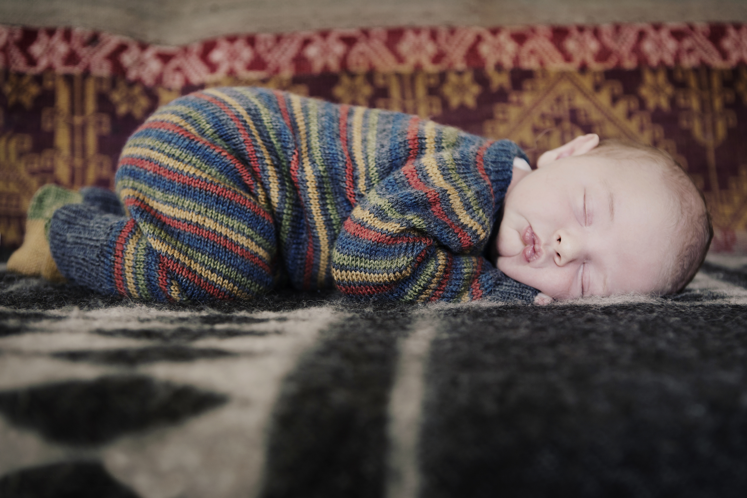 Knitting for babies is one of my favorites