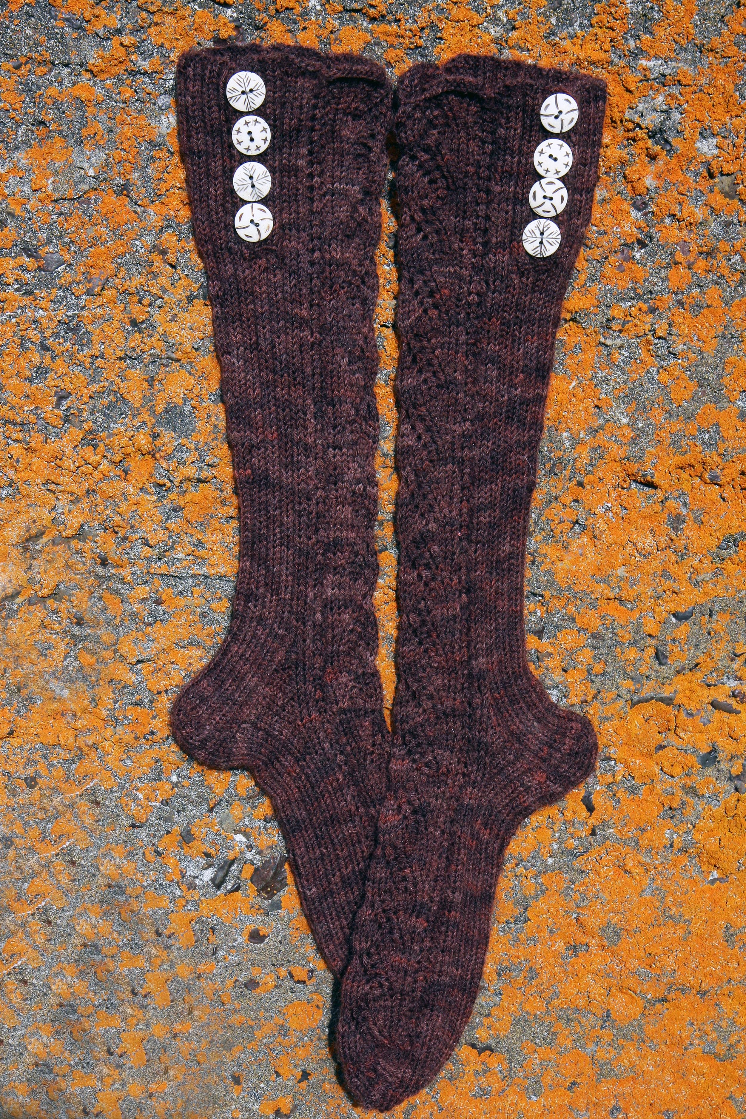 Yarn - Schoppel Sock Yarn - Needles - # 2,5 - 3,0 mm. Price Pattern - $ 8   Buy Pattern