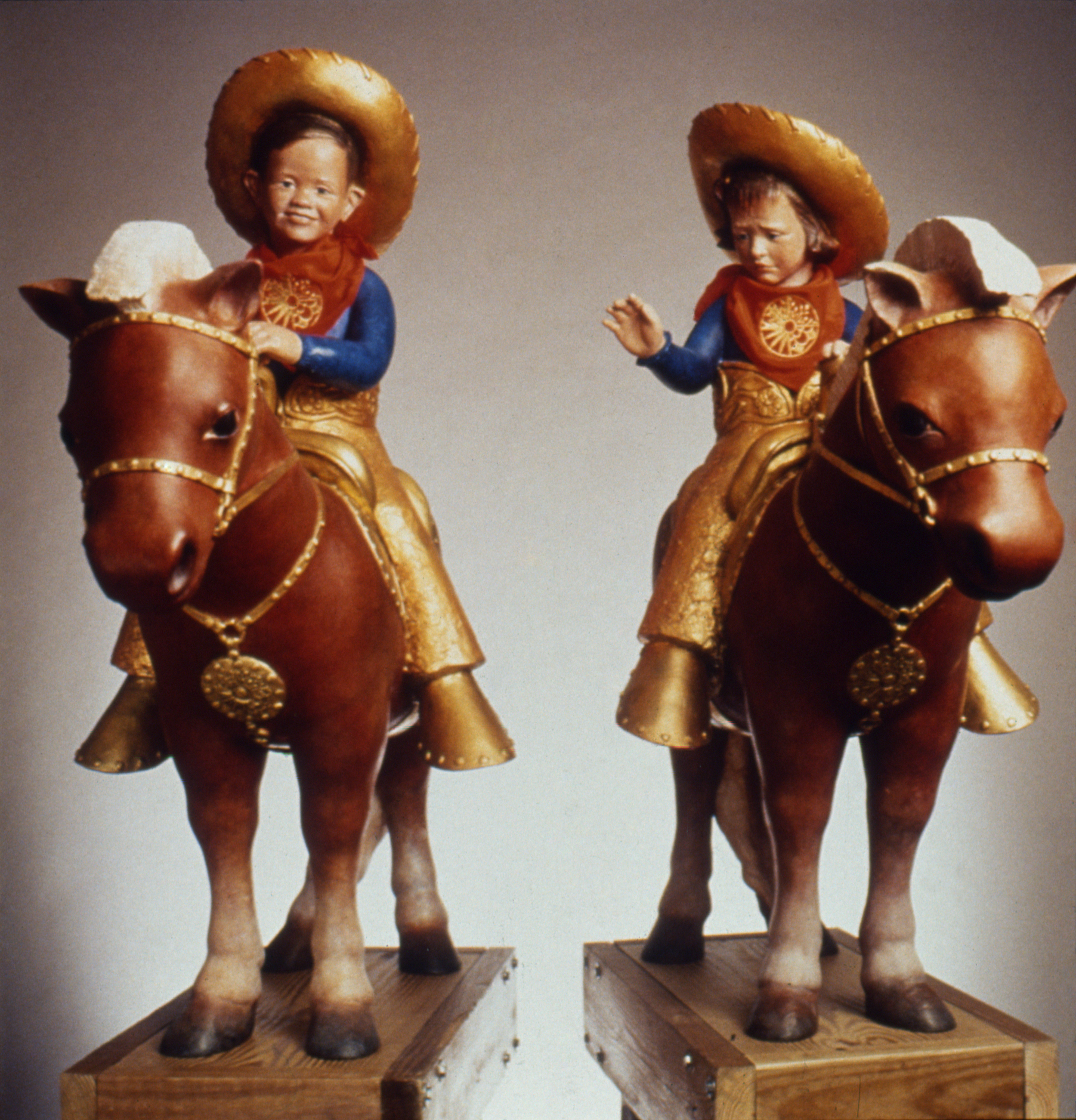 MOUNTED CHILDREN 1994