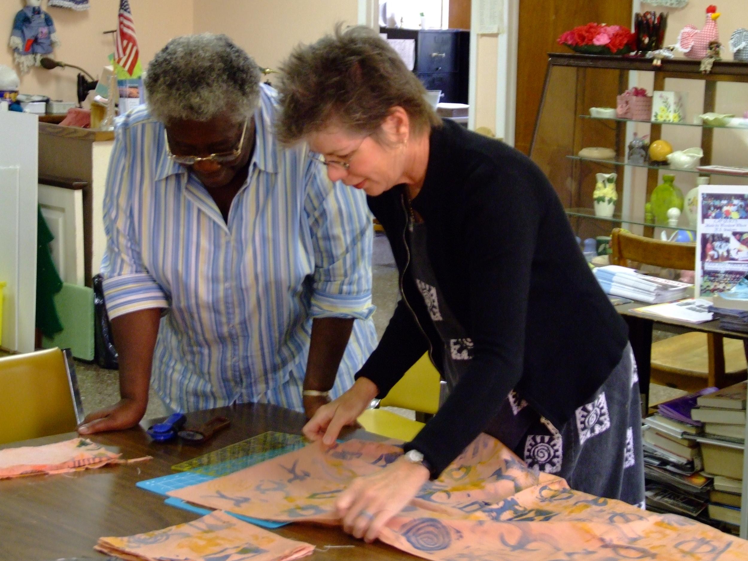 Working with Elizabeth