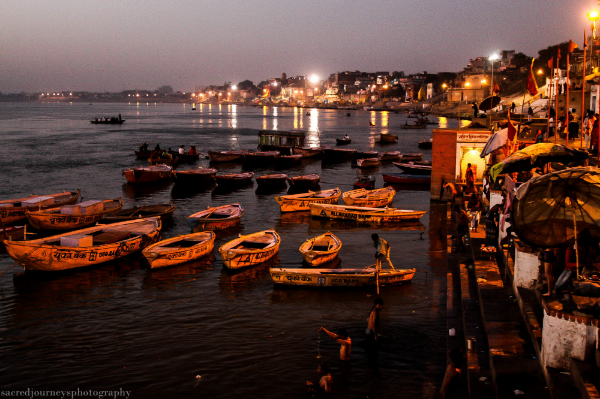 Varanasi Sunrise at Dashashwamedh Ghat