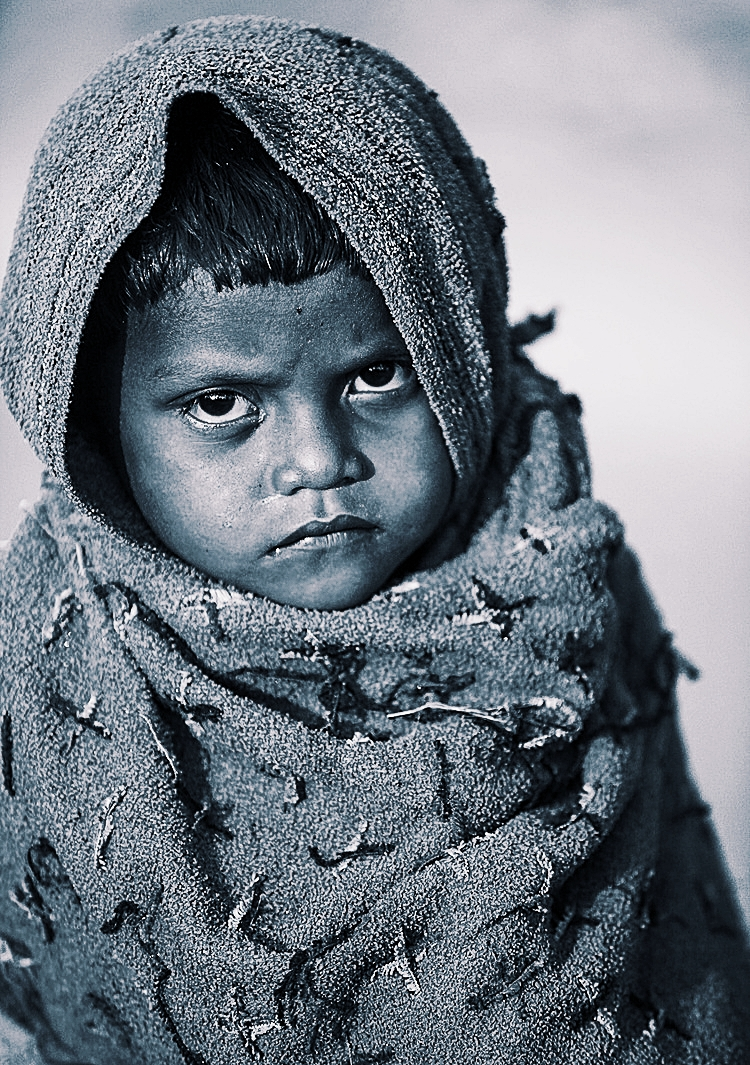 children boy in Bodhgaya village.jpg
