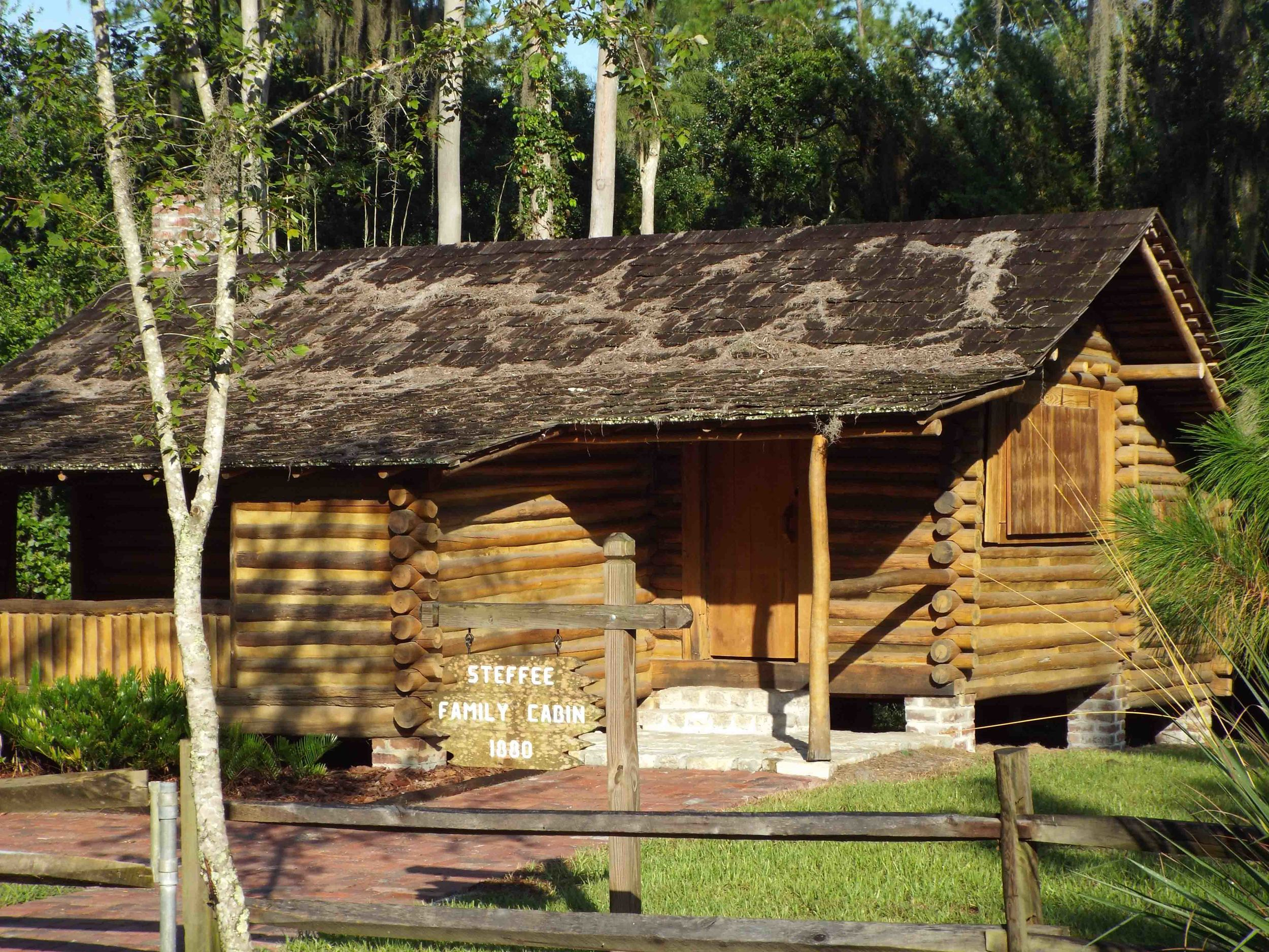 The Steffee Family Cabin dates back to 1880. TSI restored it with historical materials to bring it back to its original beauty.