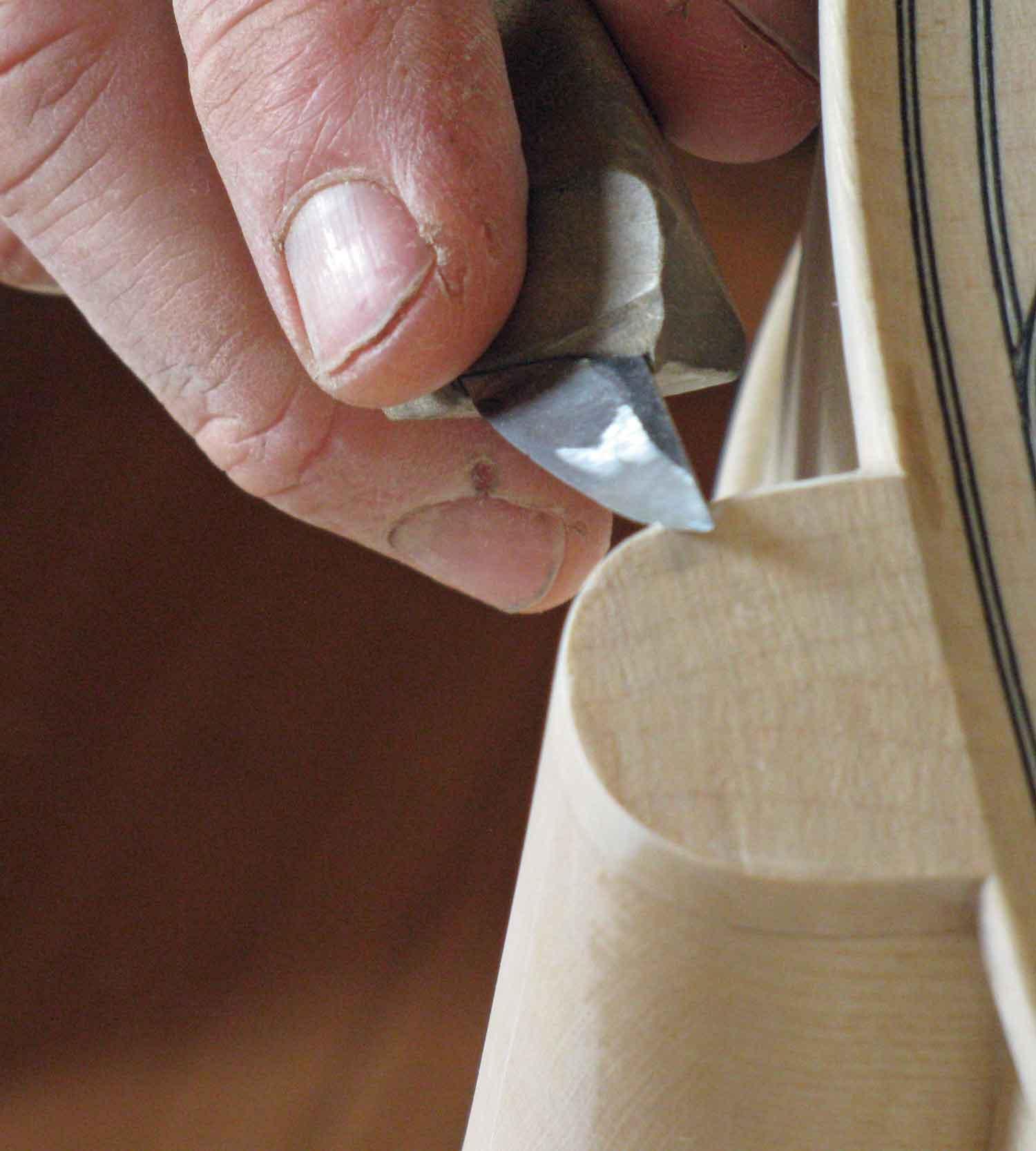 Cutting the chamfer