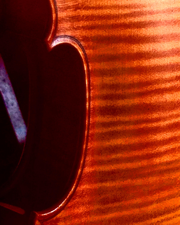 A recent violin.