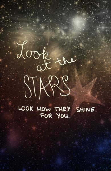 STARS  art print by  Shans