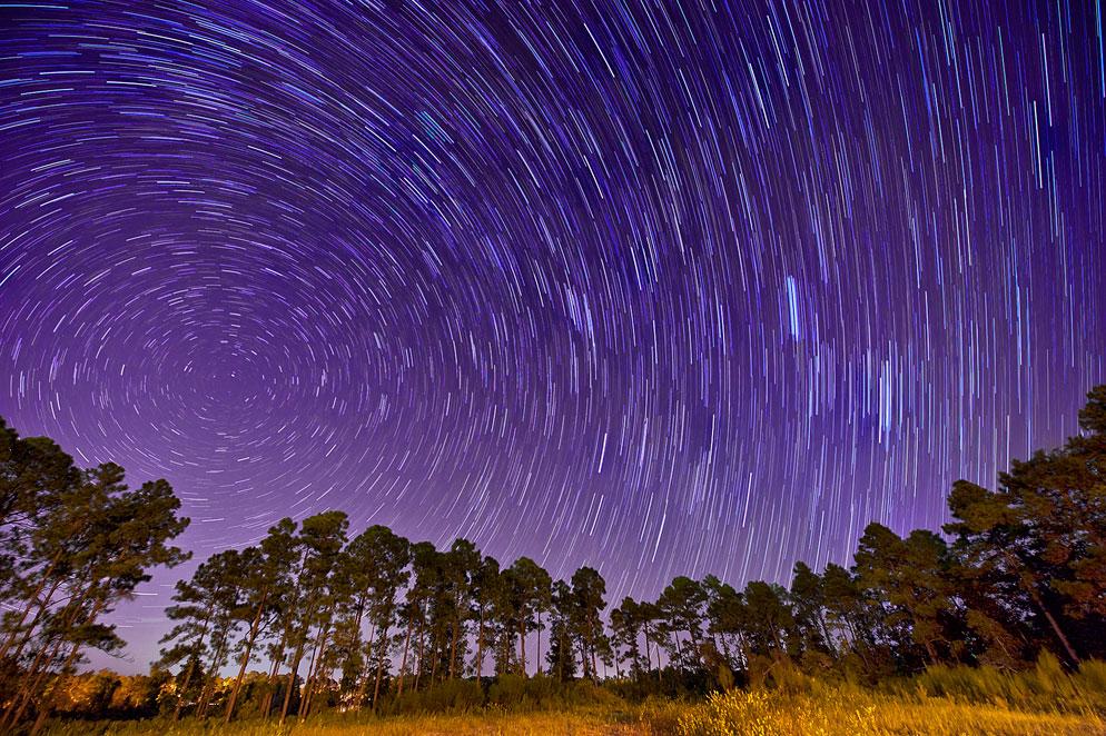 STAR TRAILS  by  Deborah Sandidge