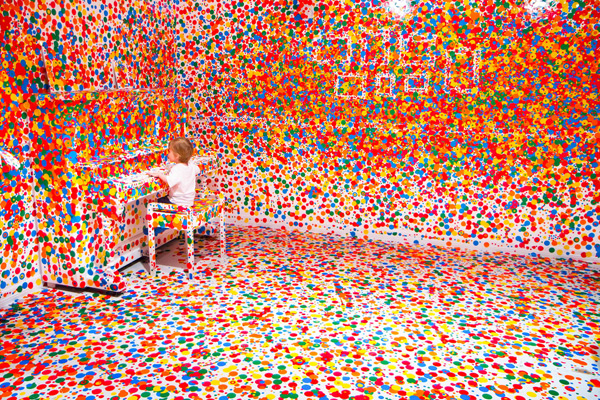 Obliteration Room  by  Yayoi Kusama  [ via ]