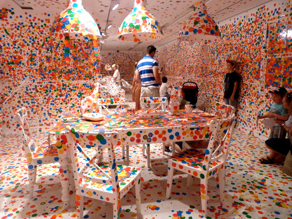 Kusama's Obliteration Room
