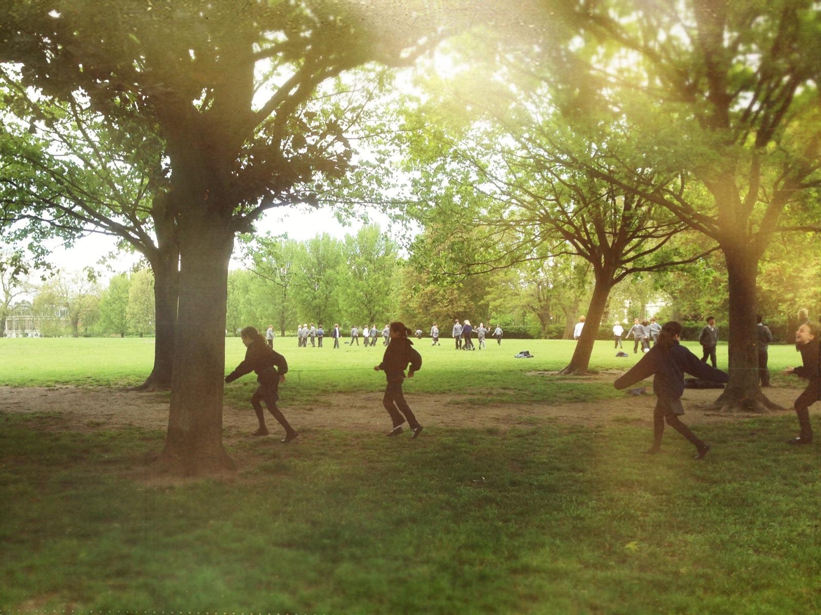 Escena de parque