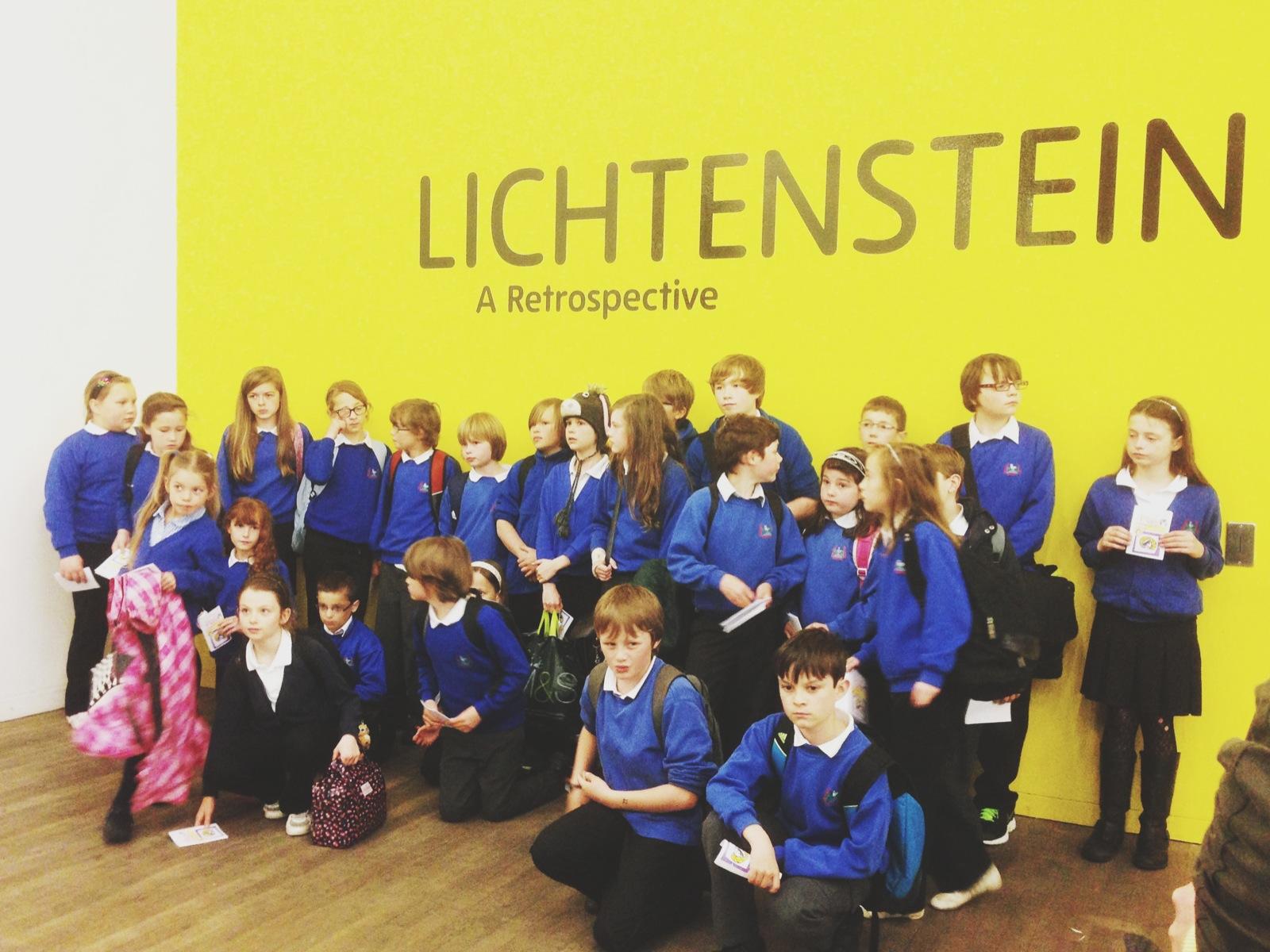 Lichtenstein en la  TATE