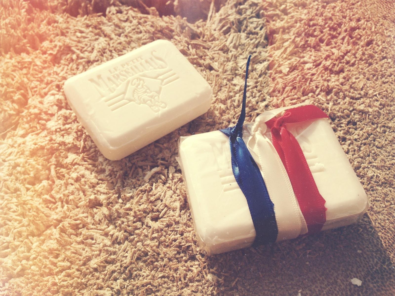 Souvenir francés - jabón de marsella