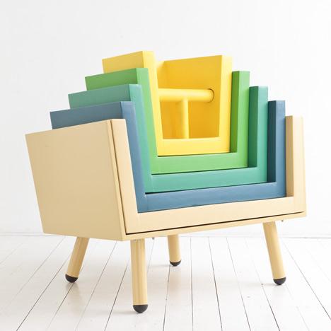 Stacking Throne by  Laurens van Wieringen [ via ]