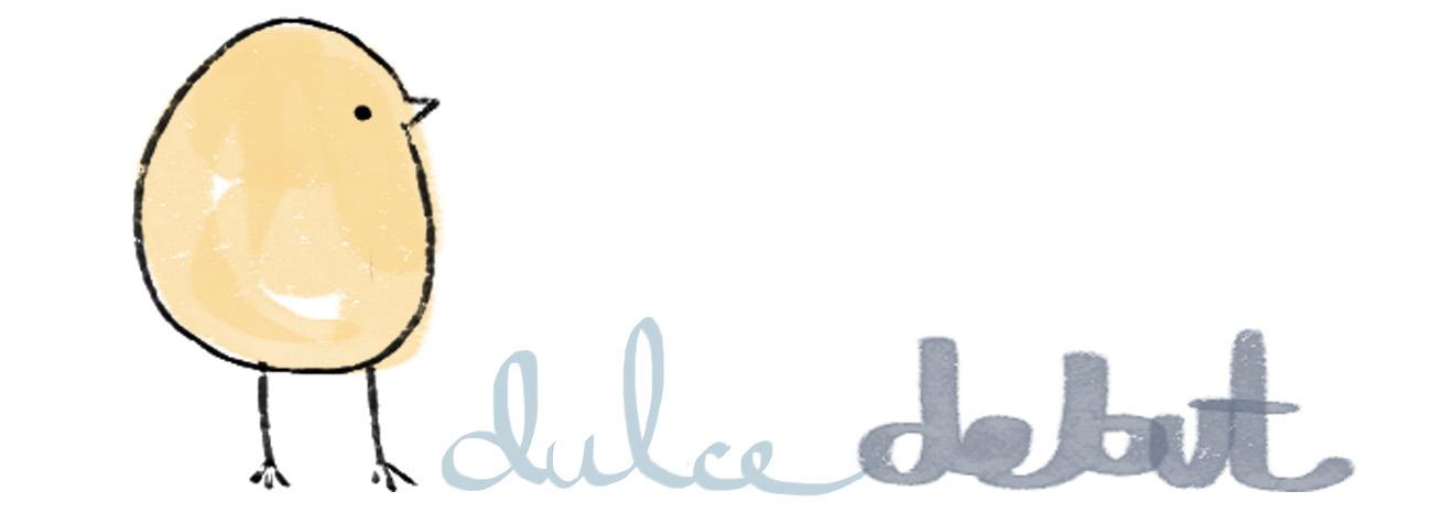 DULCE DEBUT by  SILVANA ÁVILA