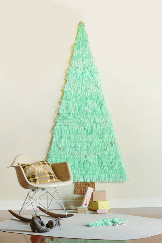 Tissue Paper Tree  via apartment therapy
