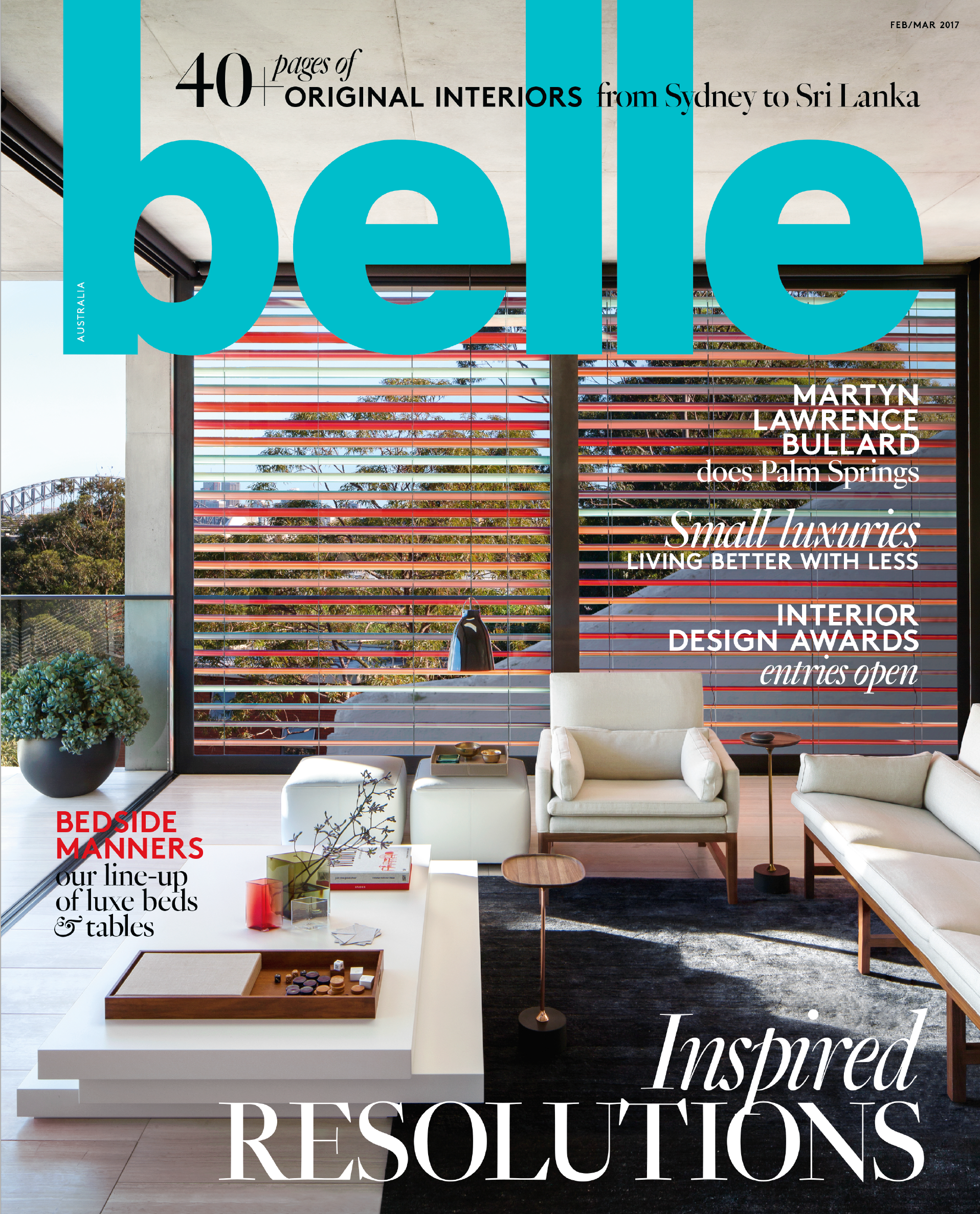 Belle February-March 2017, Cover.png