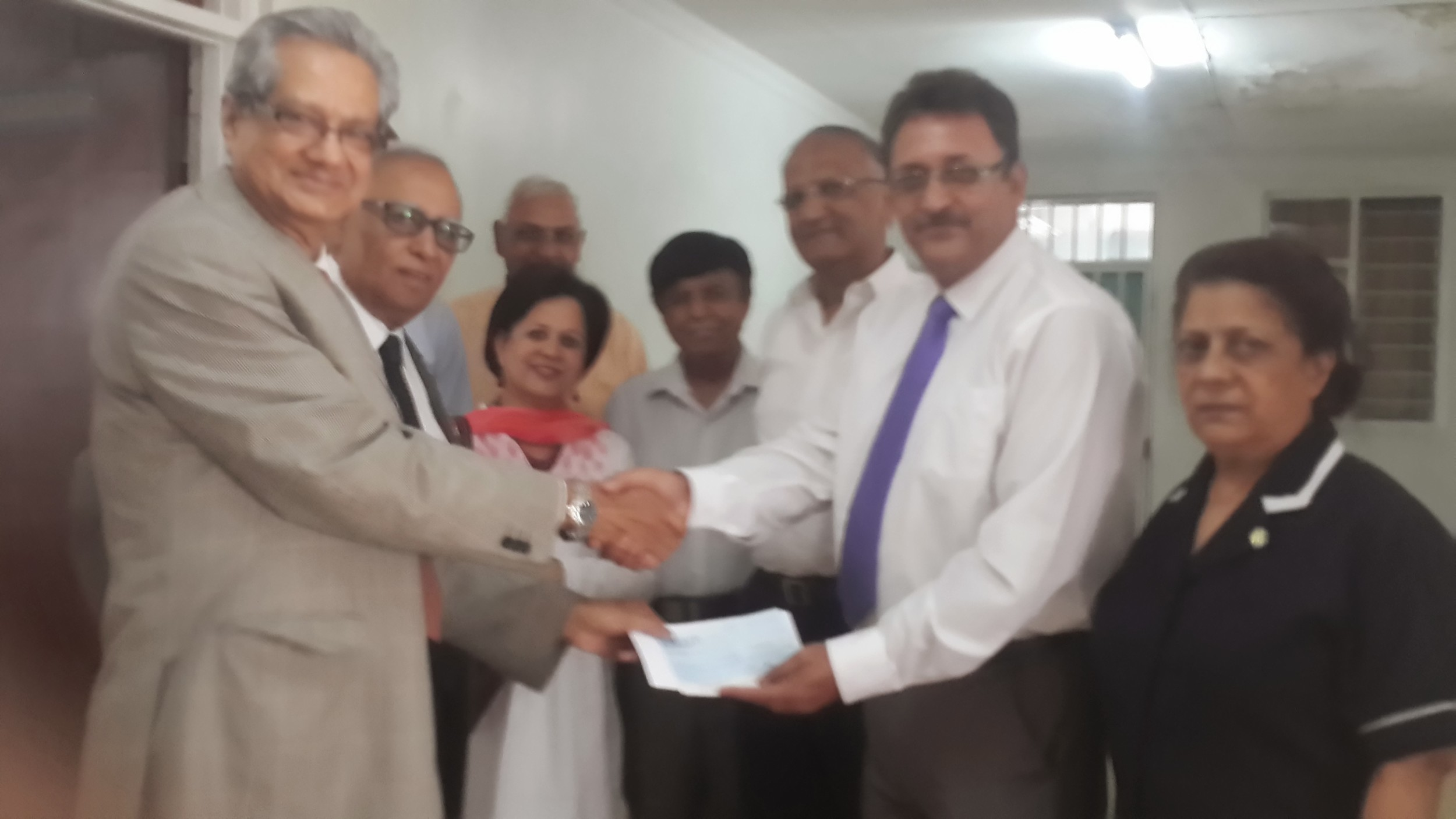 Donation of Ksh 250,000 to Guru Nanak Hospital to assist the victims of Westgate Tragedy.jpg