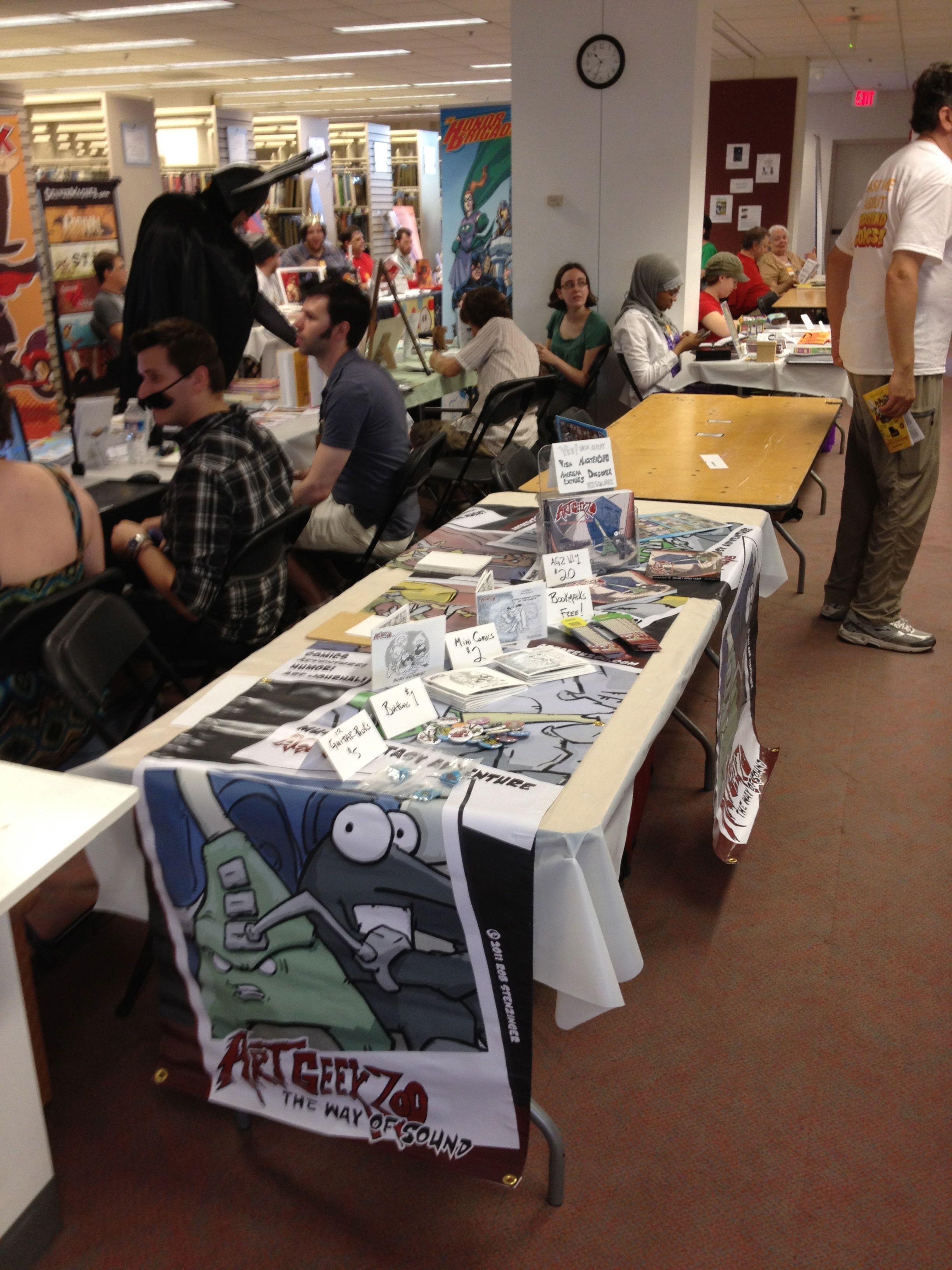 Photos From Kids Read Comics 2012