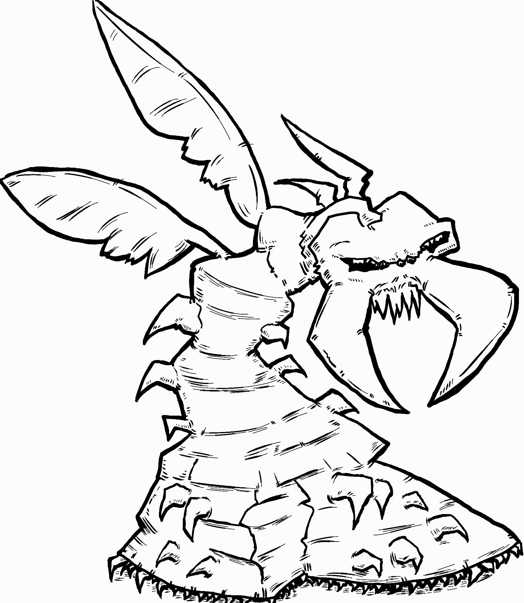 Creature Design, The Wormbug Completed