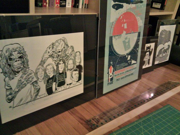 Framing Artwork: Some Gifted to Me, Some Gifted to Others