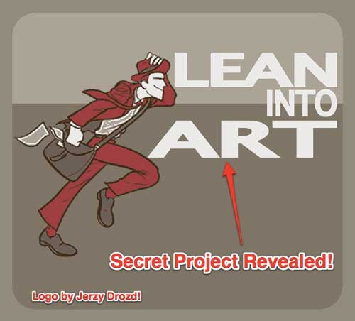 "In this episode I share the news of that ""secret project"" I've been working on most all of 2011. It's  Lean Into Art ! I also share a bit about the tech we're using to launch this virtual center of learning visual and interactive arts. 