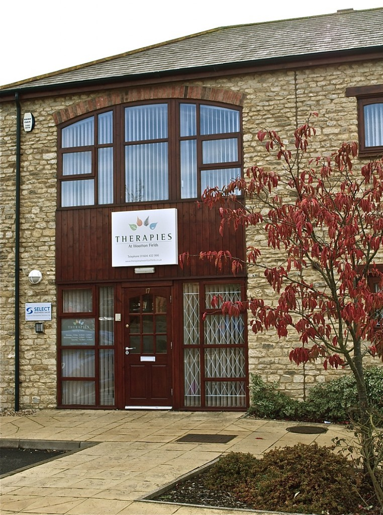 - Therapies at Wootton Fields17 Tudor CourtWootton Hope DriveWootton FieldsNorthamptonNN4 6FF078-96028556We are conveniently located in Wootton Fields, just 1 to 2 miles from Junction 15 of the M1, within the shopping parade at Wootton FieldsWe have 4 allocated space to the right of the building (marked with WFTC). Alternatively, there is plenty of parking available in the Co-op car park next door. Please avoid parking in the spaces directly outside the front door, as these are not ours.