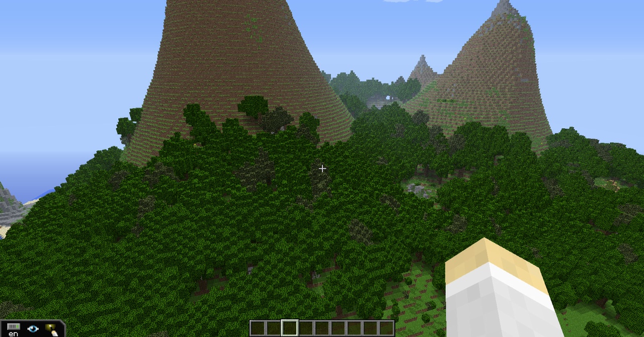Our survival island.