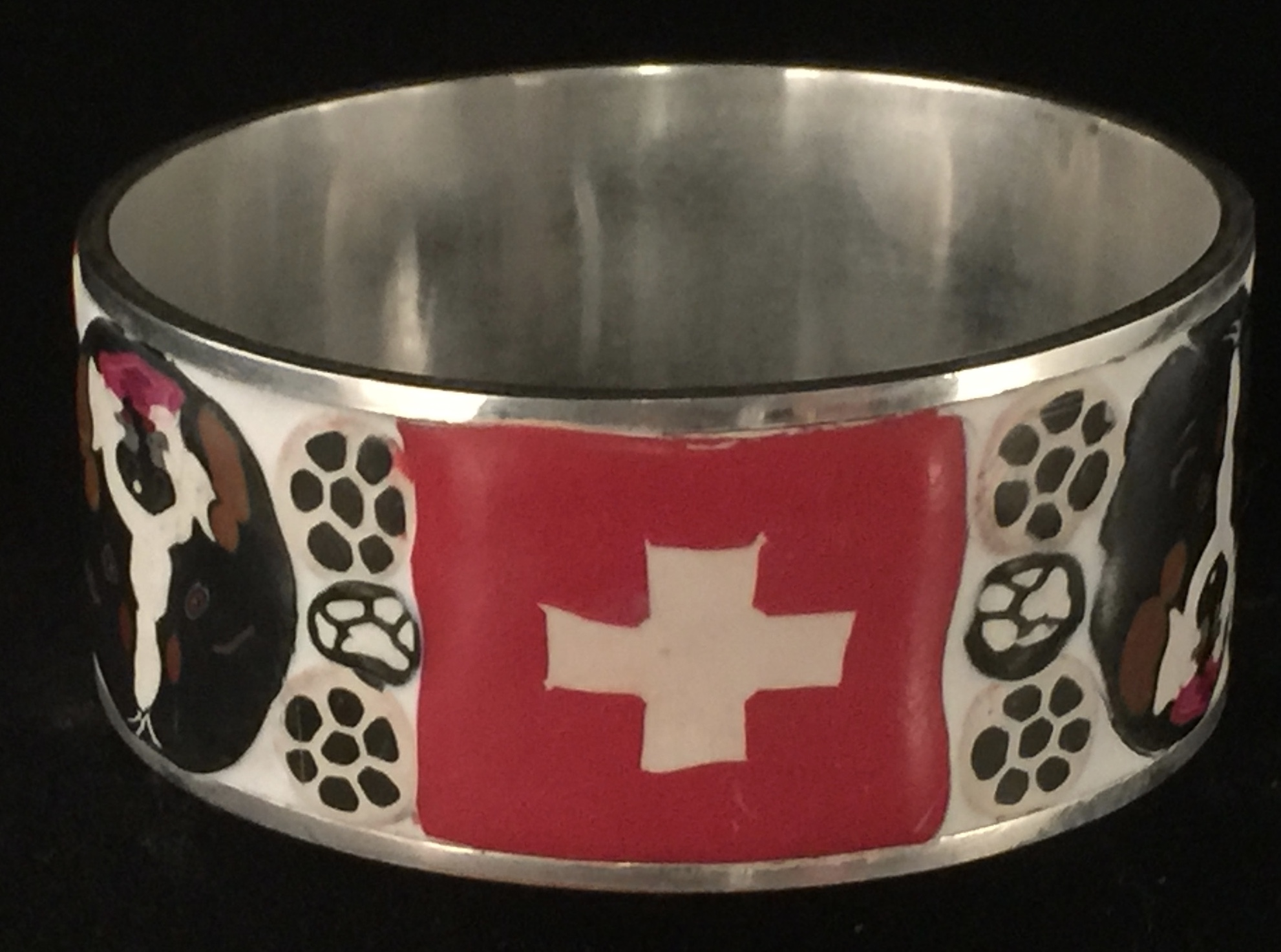 Ups & Downs Berner Bling Bangle (Size Medium) Please check sizing chart  prior to order  — Liane Weyers