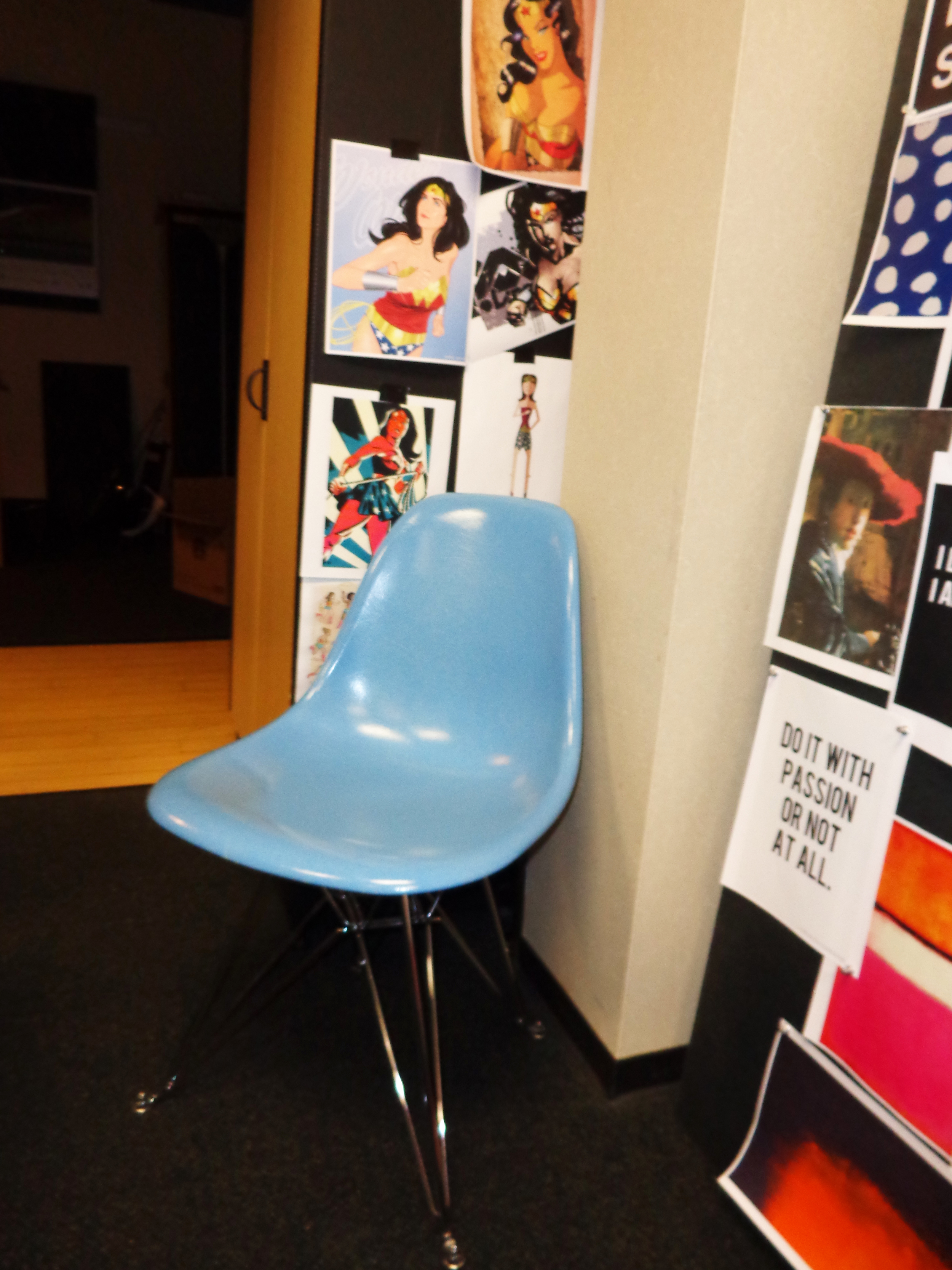 How lucky am I to have this beautiful chair? LOVE Ray and Charles Eames <3