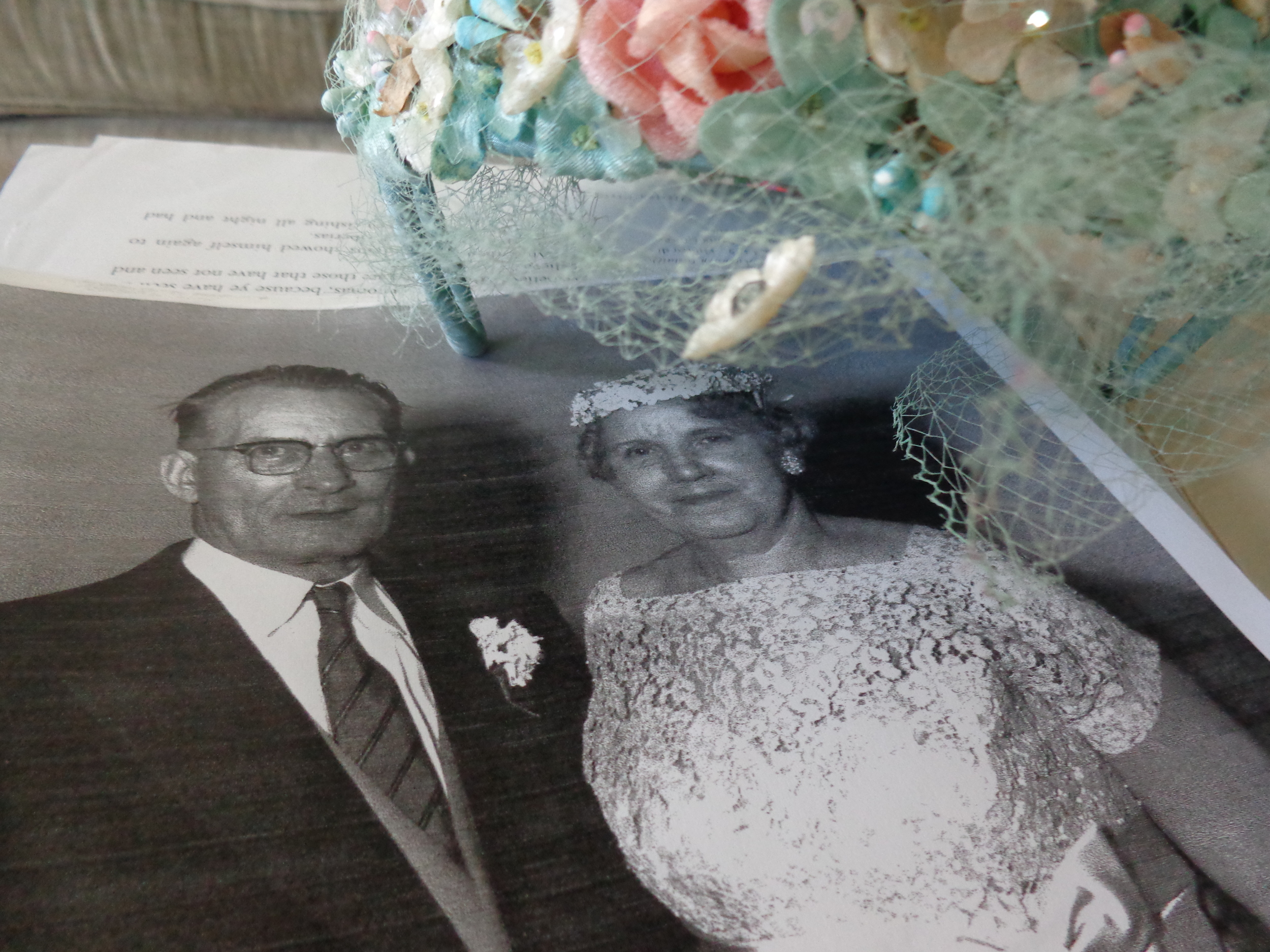 my great grandmother Alberta and my great grandfather Edward <3