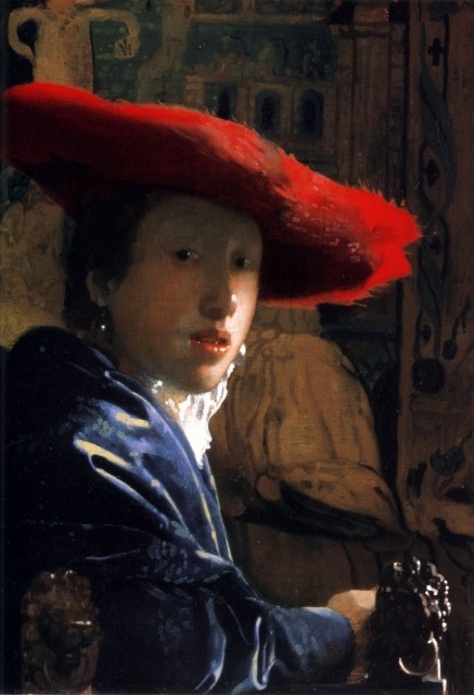 Johannes Vermeer - Girl with a Red Hat.jpg