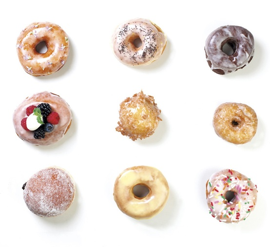 I had to nick this from their  Pinterest  to show you how beautiful their doughnuts look... I hope they don't mind!