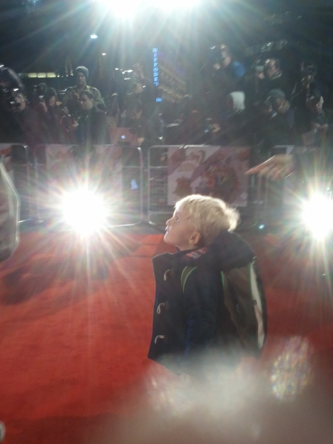 Pablo on the red carpet