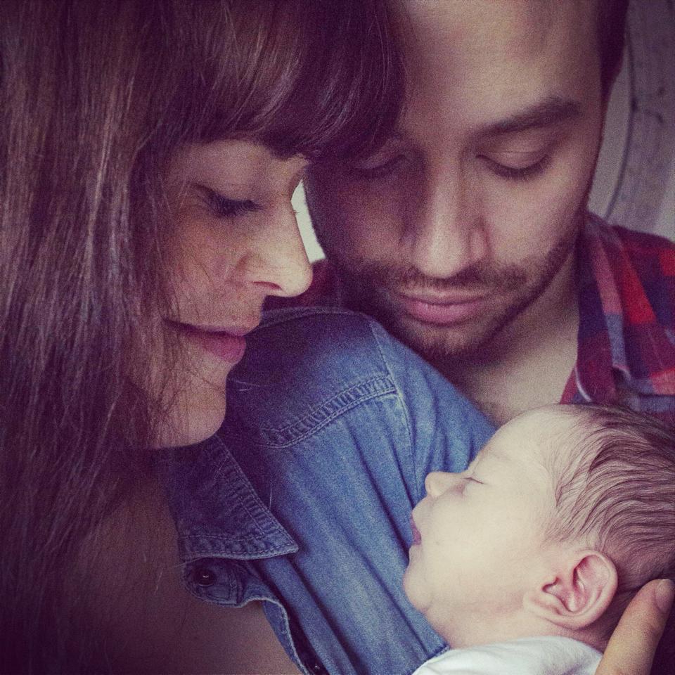 mama, papa & Saxon