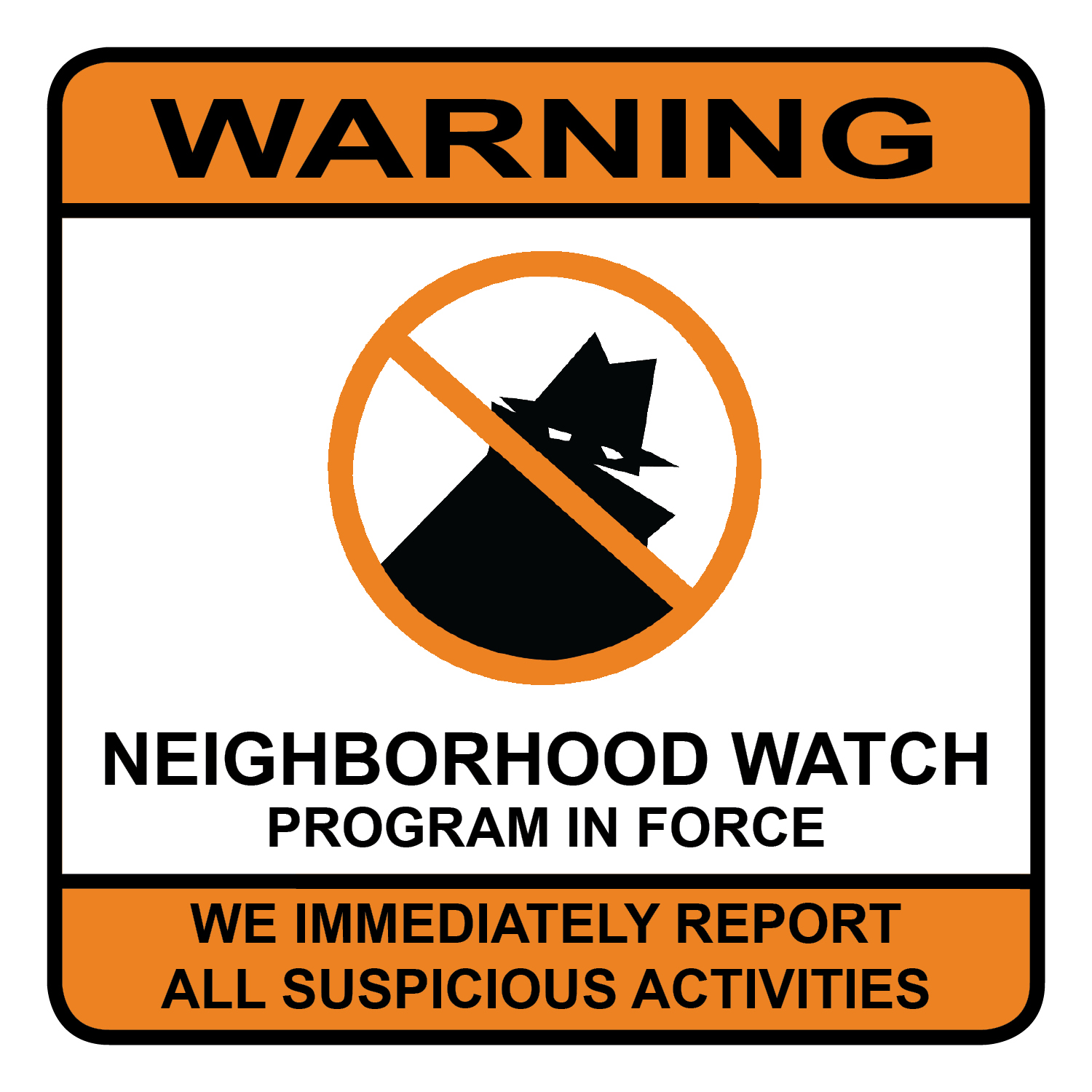 PHOTO: Neighborhood watch logo. (Photo Courtesy of Cape Coral Police Department)