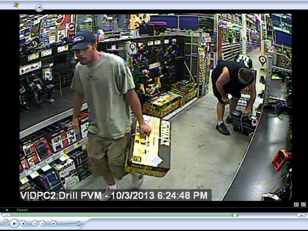 """PHOTO: The suspect in this string of retail thefts is described as a white male approximately 30 years old, 5'10 - 6'00"""", 155lbs-165lbs, with facial hair. (Photo Courtesy of Cape Coral Police Department)"""