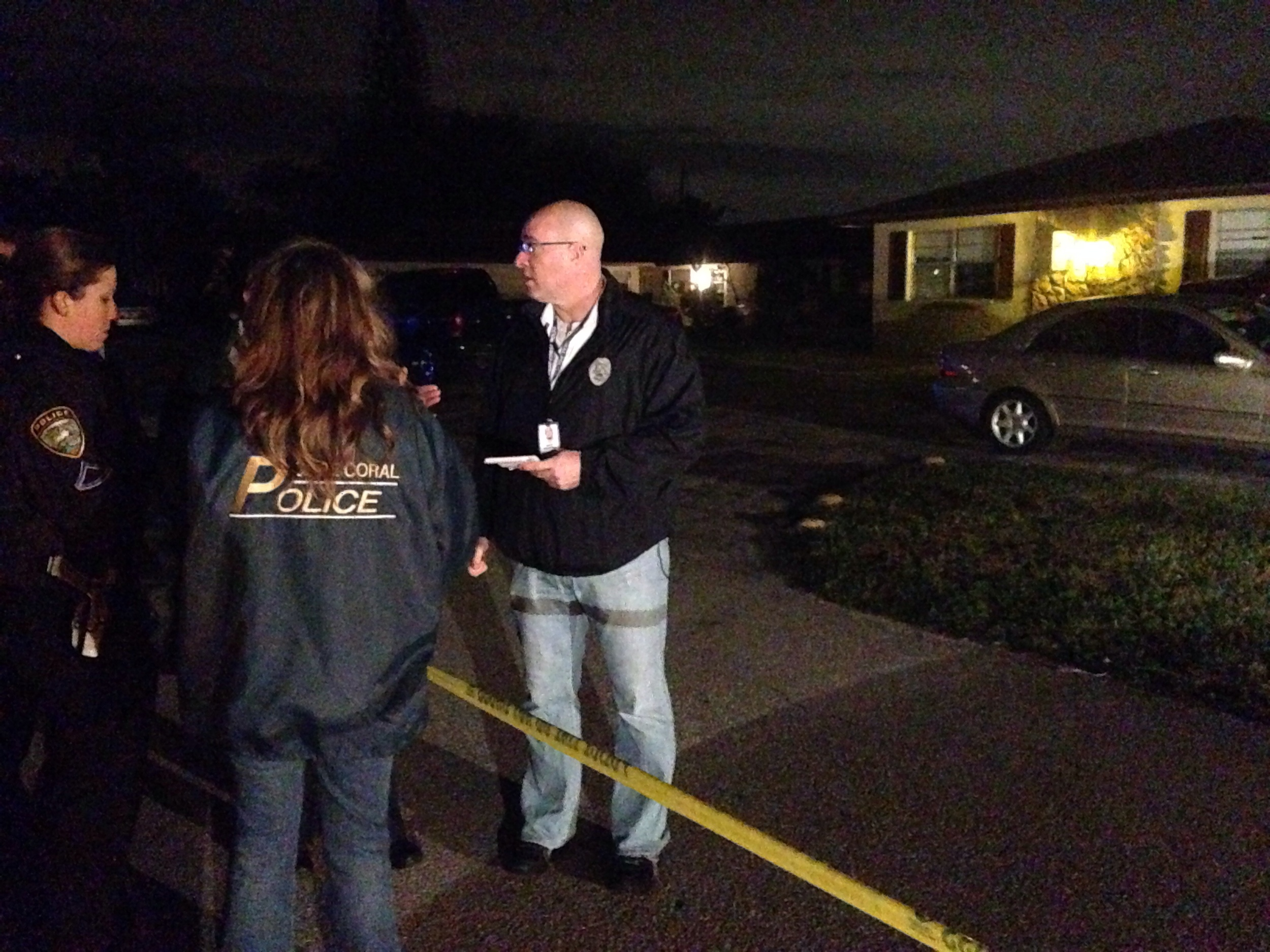 Photo: Cape Coral Police Department Detectives working scene of an early morning shooting in Southeast Cape Coral.